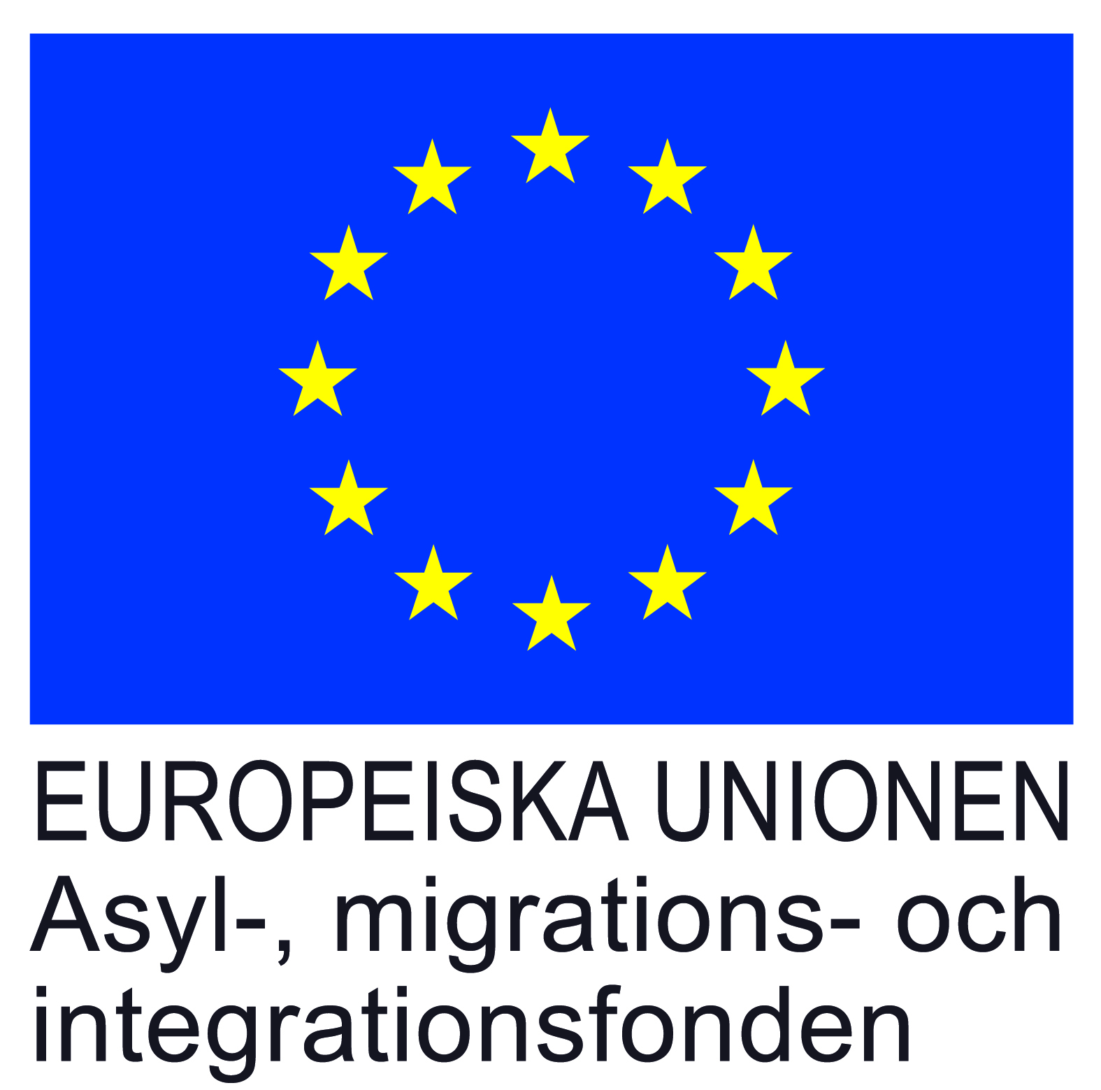 Asyl-, migrations- och integrationsfonden, logotype